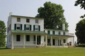 Zebulon Hollingsworth's House at Elk Landing, MD