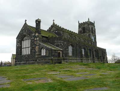 St. Michaels & All Angels Church, Mottram