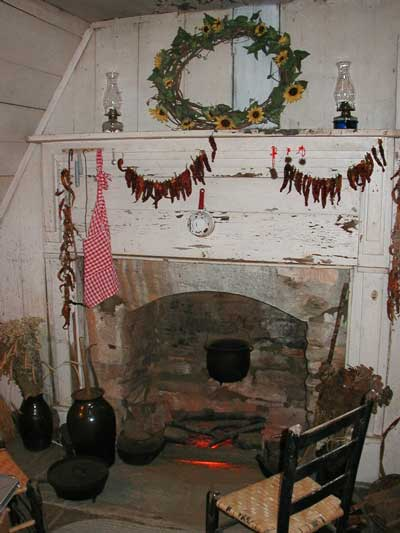 Fort Hollingsworth Fireplace